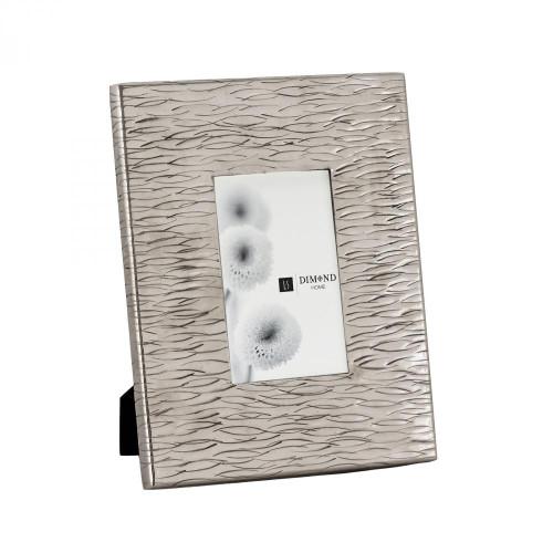 Home Decor By Dimond Aluminum Textured 4x6 Photo Frame 8988-005