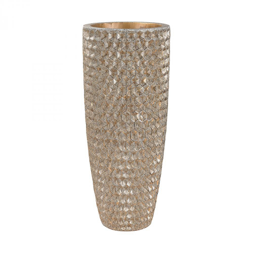 Home Decor By Dimond Geometric Textured Vase 9166-025