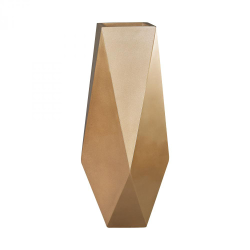 Home Decor By Dimond Qattara Planter In Champagne Gold 9166-045