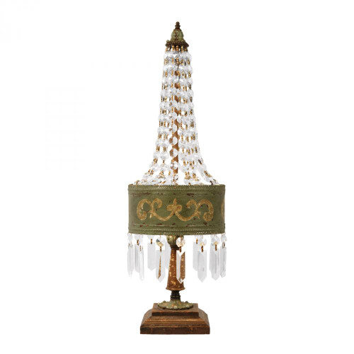 Lamps By Dimond Eiffel Table Lamp in Parisian Moss 93-650