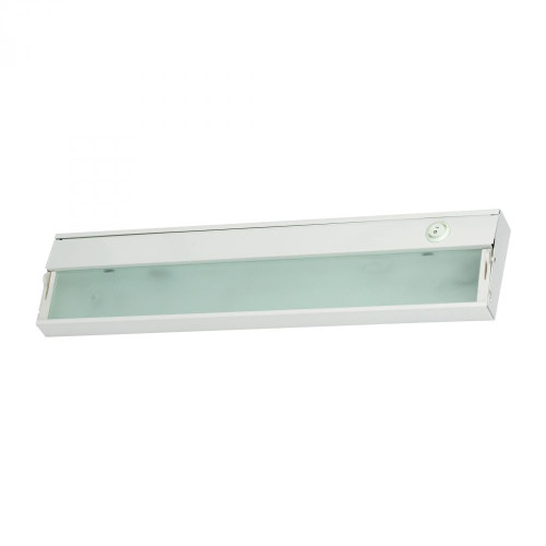 Wall Lights By Elk Cornerstone Aurora 2 Light Under Cabinet Light In White 4.75x4.75 A217UC/40