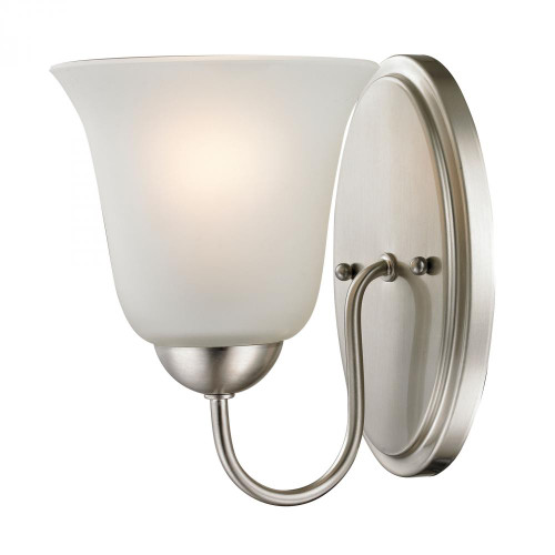 Wall Lights By Elk Cornerstone Conway 1 Light Bath Bar In Brushed Nickel 1201WS/20