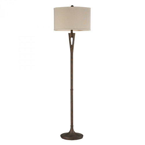 Lamps By Dimond Martcliff Floor Lamp in Burnished Bronze D2427