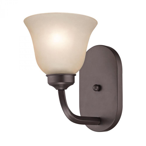 Wall Lights By Elk Cornerstone Santa Fe 1 Light Wall Scone In Oil Rubbed Bronze 2201WS/10