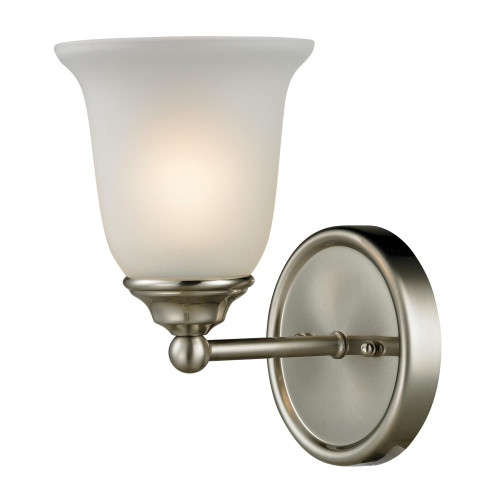 Wall Lights By Elk Cornerstone Sudbury 1 Light Bathbar In Brushed Nickel 5601BB/20