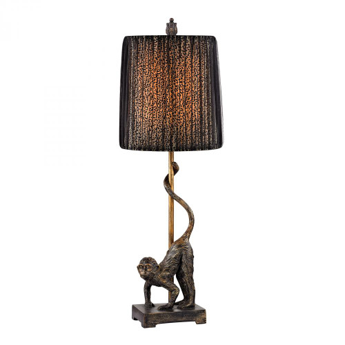 Lamps By Dimond Aston Monkey Table Lamp in Bronze D2477