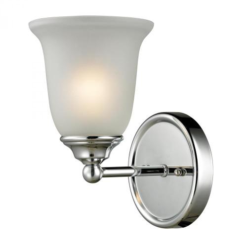 Wall Lights By Elk Cornerstone Sudbury 1 Light Bathbar In Chrome 5601BB/30