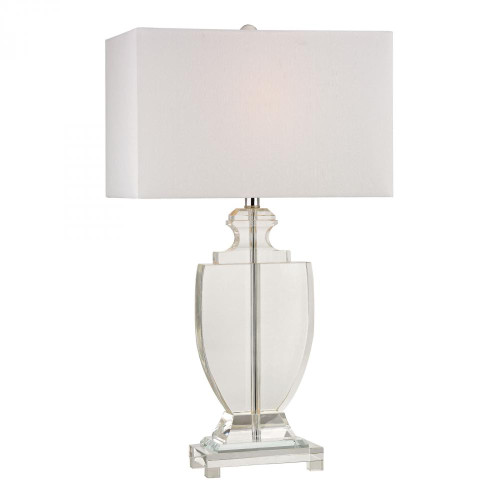 Lamps By Dimond Avonmead Solid Clear Crystal Table Lamp D2483
