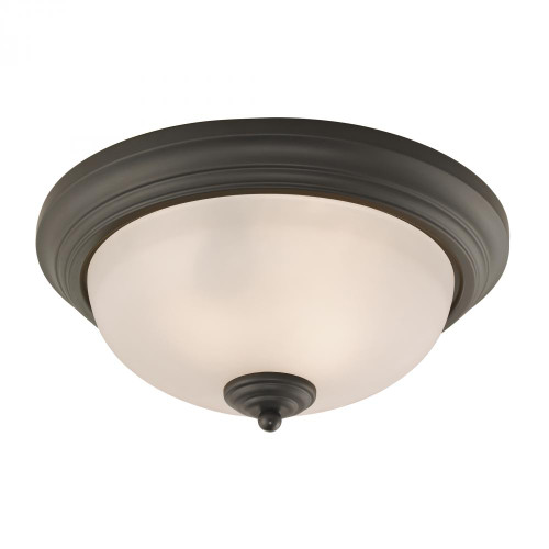 Ceiling Lights By Elk Cornerstone Huntington 3 Light Ceiling Lamp In Oil Rubbed Bronze 7053FM/10
