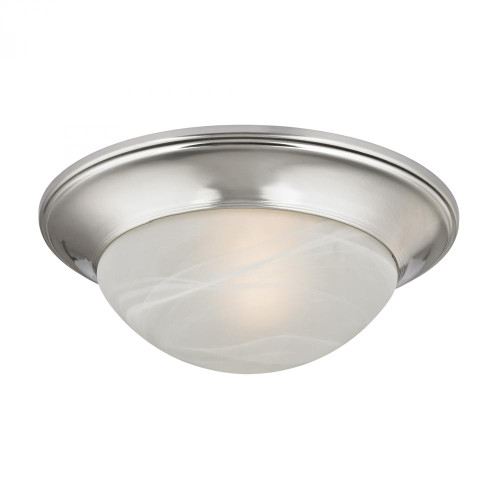 Ceiling Lights By Elk Cornerstone 1 Light Flushmount In Brushed Nickel 7301FM/20