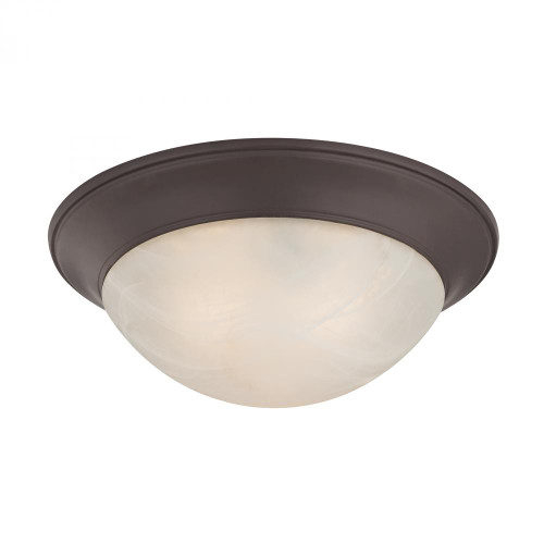 Ceiling Lights By Elk Cornerstone 3 Light Flushmount In Oil Rubbed Bronze 7303FM/10