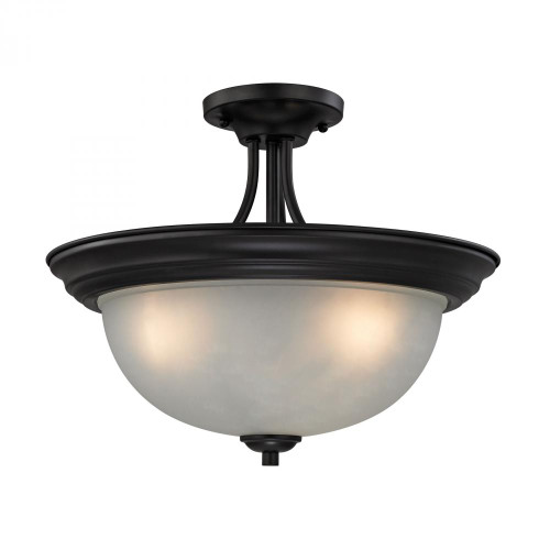 Ceiling Lights By Elk Cornerstone Bristol Lane 3 Light Semi Flush In Oil Rubbed Bronze 2103SF/10