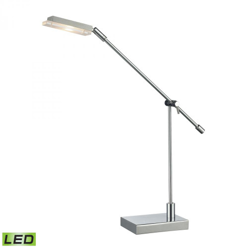 Lamps By Dimond Bibliotheque Adjustable LED Desk Lamp in Polished Chrome D2708