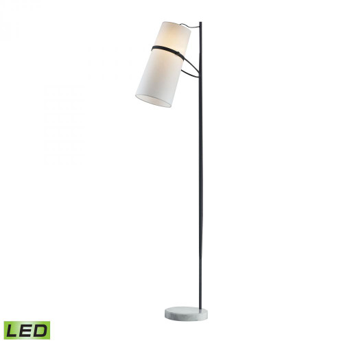 Lamps By Dimond Banded Shade LED Floor Lamp D2730-LED