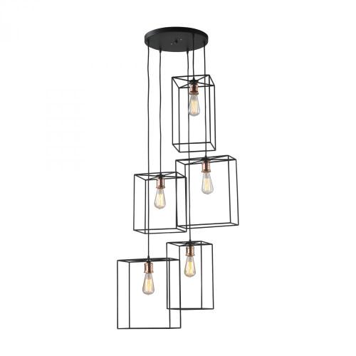 Chandeliers/Pendant Lights By Dimond Box Pendant Cluster D2735