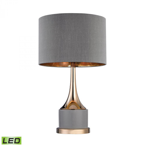 Lamps By Dimond Small Gold Cone Neck LED Lamp D2748-LED
