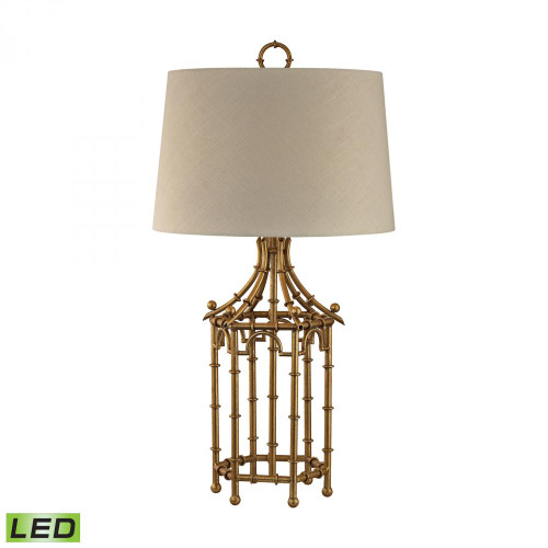 Lamps By Dimond Bamboo Birdcage LED Lamp D2864-LED
