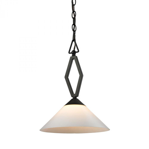 Chandeliers/Pendant Lights By Elk Cornerstone Tribecca 1 Light Pendant Large In Oil Rubbed bronze 2401PL/10