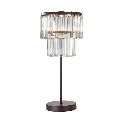 Lamps By Dimond Antoinette 1 Light Table Lamp In Bronze D3014