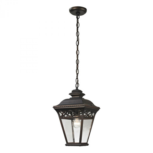 Outdoor Lights By Elk Cornerstone Mendham 1 Light Exterior Pendant Lantern In Hazelnut 8511EH/70