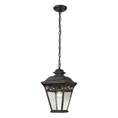 Outdoor Lights By Elk Cornerstone Mendham 1 Light Exterior Pendant Lantern In Hazelnut 8511EH/70