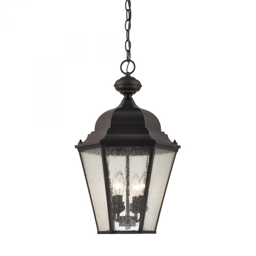 Outdoor Lights By Elk Cornerstone Cotswold 4 Light Exterior Hanging Lamp In Oil Rubbed Bronze 8903EH/75