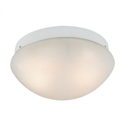 Ceiling Lights By Elk Cornerstone 2 Light Mushroom Flushmount In White 7352FM/40