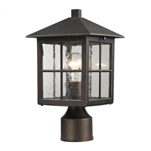 Outdoor Lights By Elk Cornerstone Shaker Heights Post Lantern In Hazelnut Bronze 8201EP/70