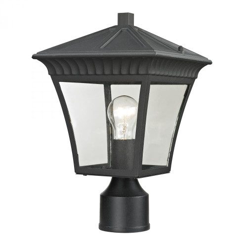 Outdoor Lights By Elk Cornerstone Ridgewood Post Lantern In Matte Textured Black 8411EP/65