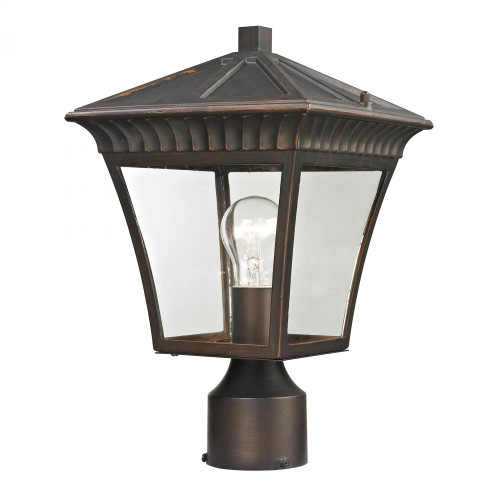Outdoor Lights By Elk Cornerstone Ridgewood Post Lantern In Hazelnut Bronze 8411EP/70