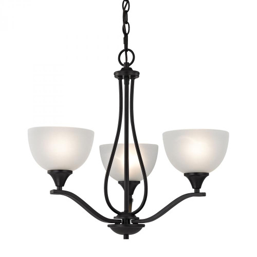 Chandeliers By Elk Cornerstone Bristol Lane 3 Light Chandelier In Oil Rubbed Bronze 2103CH/10