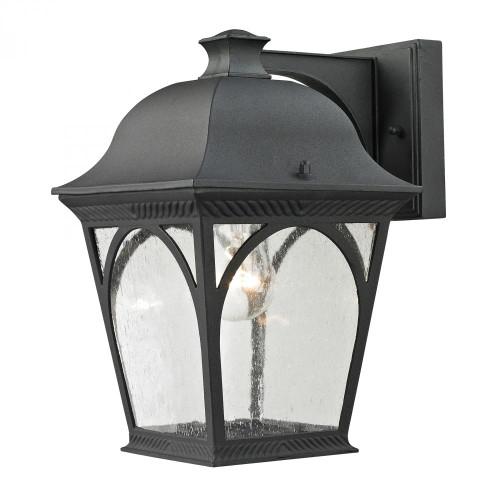 Outdoor Lights By Elk Cornerstone Cape Ann 1 Light Outdoor Coach Lantern In Matte 8301EW/65