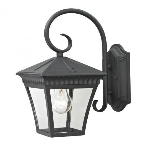 Outdoor Lights By Elk Cornerstone Ridgewood Coach Lantern In Matte Textured Black 8401EW/65
