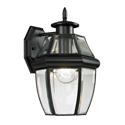 Outdoor Lights By Elk Cornerstone Ashford 1 Light Exterior Coach Lantern In Black 8601EW/60