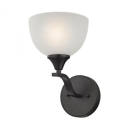 Wall Lights By Elk Cornerstone Bristol Lane 1 Light Wall Scone In Oil Rubbed Bronze 2101WS/10