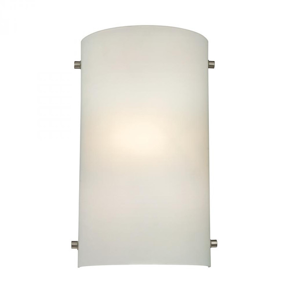 Wall Lights By Elk Cornerstone 1 Light Wall Sconce In Brushed Nickel 7.5x12 5161WS/99