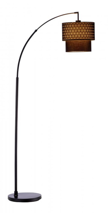 Lamps By Adesso Gala Arc Lamp in Black 3029-01