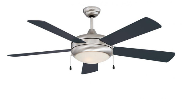 Ceiling Fans By Concord Fans Concord By Luminance 52 Inch Saturn-Ex Ceiling Fan 2*60W Mb - Stainless Steel 52SAX5EST