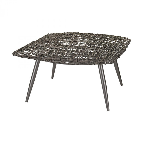 Home Decor By Dimond Woven Wicker Stool 3200-016