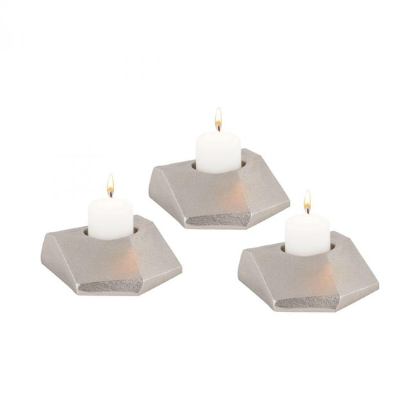 Home Decor By Dimond Trope Tea Light Holders - Set of 3 8987-036/S3