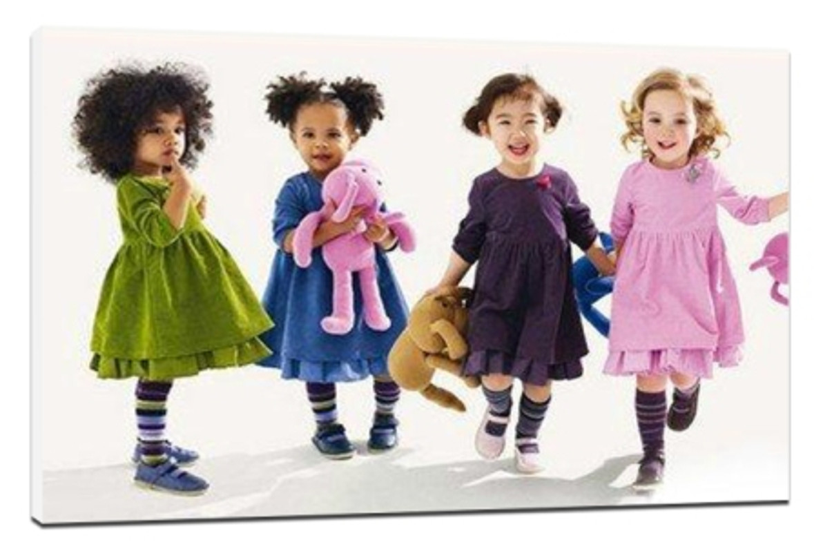 Children's photographic color matching tips