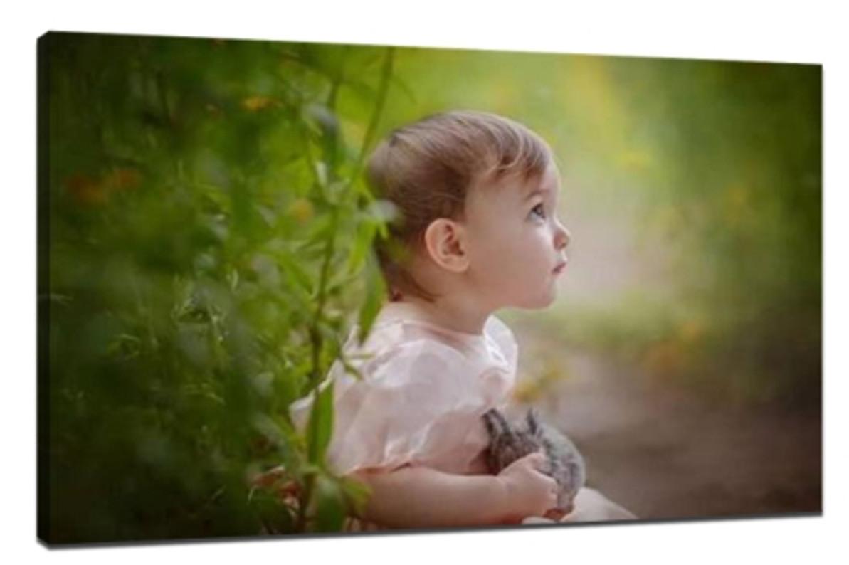 Take a good children photograph
