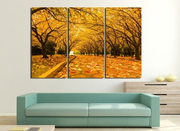 Autumn Scenery Art Prints for Wall Decor