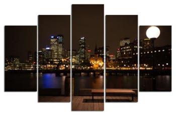 Beautiful canvas art prints photo printing sydney night