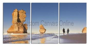 3 piece queensland great barrier reef photos on canvas wall art print
