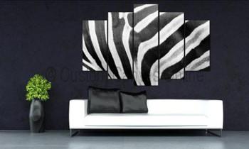 zebra painting art prints animal wall art