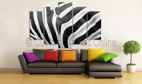 zebra painting art prints animal wall art