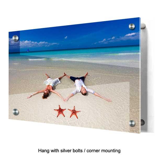 photos on acrylic