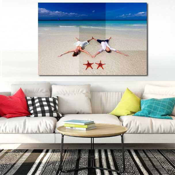 acrylic mounted photos