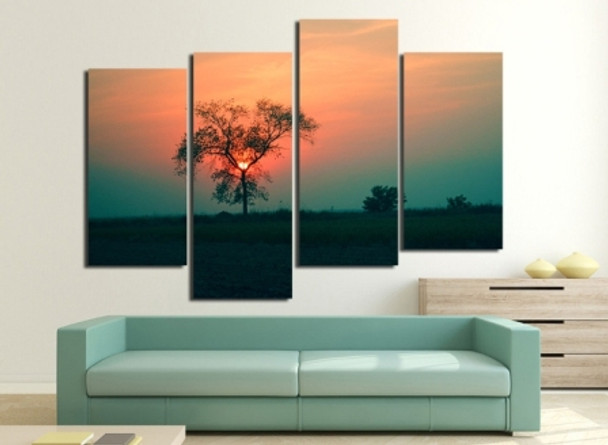 Sunset Nightfall Photography Paintings for Sale